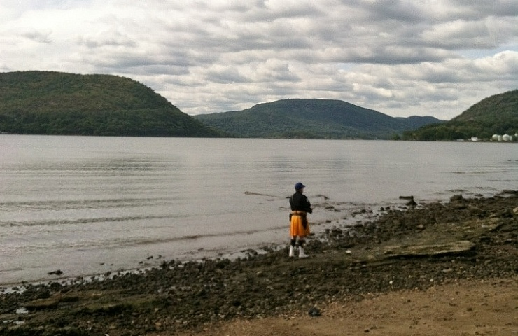 Not far from the madding crowd irish echo for Hudson river fishing spots