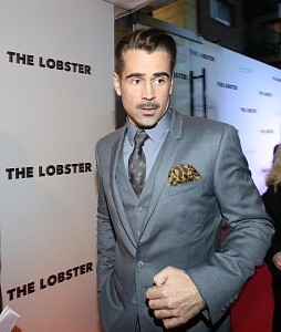 08/10/2015. The Lobster. Pictured Actor Colin Farrell at the Premier of The Lobster in the Light House Cinema in Dublin this evening. Photo: Sam Boal/Rollingnews.ie