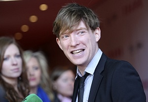 24/04/2014. European Premiere Of Frank. Pictured Domhnall Gleeson at the European Premiere Of Frank at the Lighthouse Cinema in Dublin this evening. Photo: Sam Boal/RollingNews.ie
