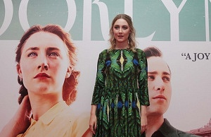 File Photo Irish actor Saoirse Ronan has been nomated for an oscar for Brooklyn. 2222/10/2015 Irish actor Saoirse Ronan who stars in the new movie Brooklyn, pictured arriving at the Savoy Cinema for the Irish premiere. Photo:Leah Farrell/RollingNews.ie