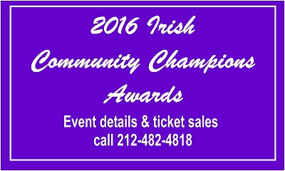 2016 Irish Community Champions