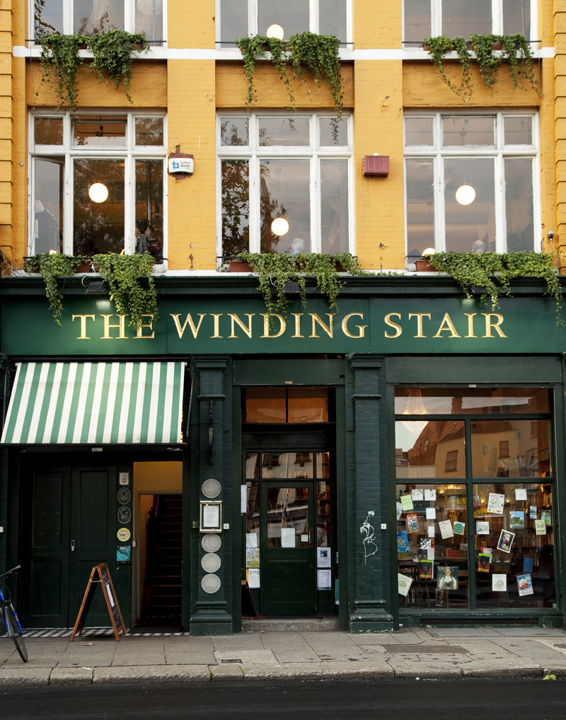 the winding stair