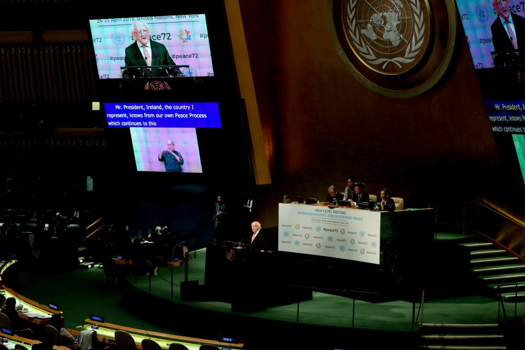 UN General Assembly president calls for new approach to prevent unending conflicts