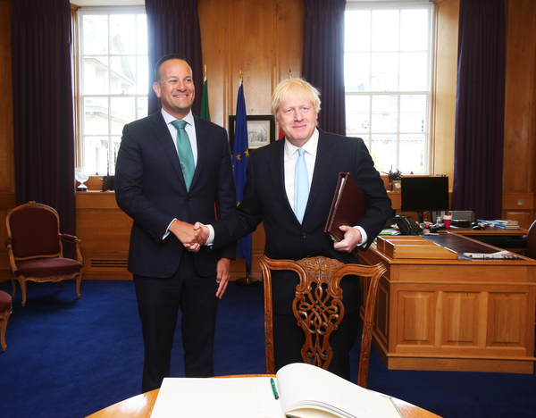 Boris Johnson to meet Irish leader today for last-ditch Brexit talks