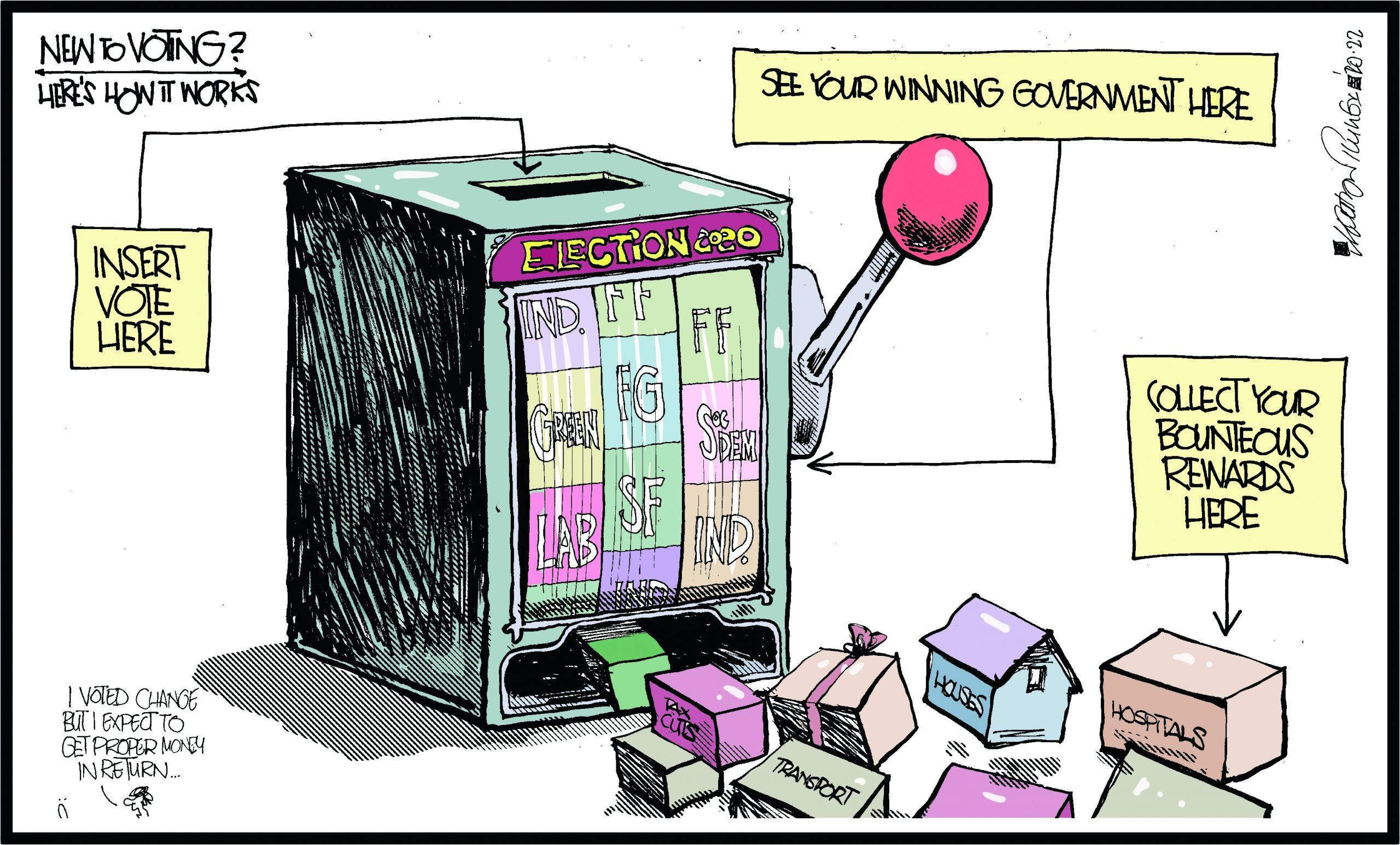 Irish political betting betting strategy in texas holdem